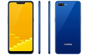 Realme C1 Front, Side and Back