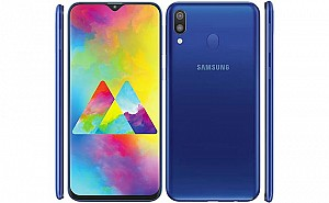 Samsung Galaxy M20 Front, Side and Back