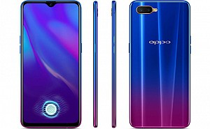 Oppo K1 Front, Side and Back