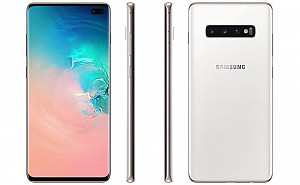 Samsung Galaxy S10 Plus Front, Side and Side