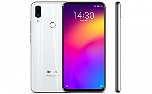 Meizu Note 9 Front, Side and Back