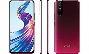 Vivo V15 Front, Side and Back