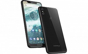 Motorola One Front, Side and Back