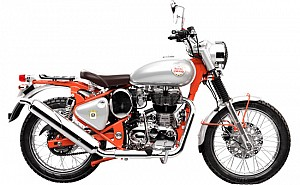 Royal Enfield Bullet Trials 350 STD Replica Red