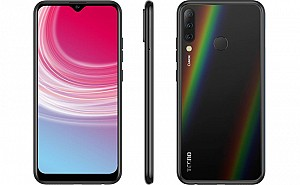 Tecno Camon i4 Front, Side and Back