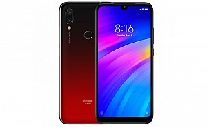 Xiaomi Redmi 7 Front, Side and Back