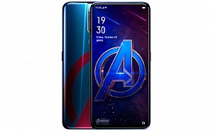 Oppo F11 Pro Marvels Avengers Limited Edition Front and Back