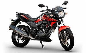 Hero Xtreme 200R STD Midnight Black with Red