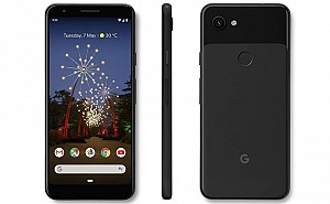 Google Pixel 3a XL Front, Side and Back