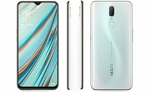Oppo A9x Front, Side and Back