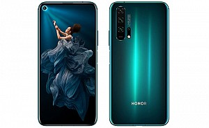 Honor 20 Pro Front, Side and Back