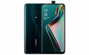 Oppo K3 Front and Back