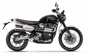 Triumph Scrambler 1200 XC Jet Black And Matt Black