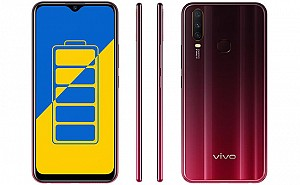Vivo Y15 2019 Front, Side and Back