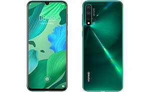 Huawei Nova 5 Front and Back