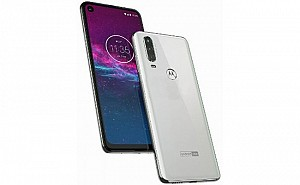 Motorola One Action Front, Side and Back