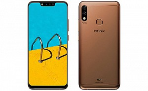 Infinix Hot 7 Front, Side and Back