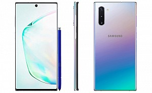 Samsung Galaxy Note 10 Front, Side and Back