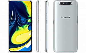 Samsung Galaxy A80 Front, Back and Side