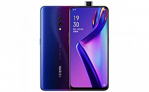 Oppo K3 8GB Front and Back