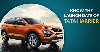 TATA Harrier to Launch on January 23, 2019.
