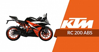 2019 KTM RC200 with ABS Launched in India, Priced at INR 1.88 lakhs