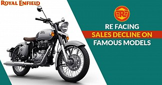 Royal Enfield Facing Sales Decline in India, Especially on Famous Models
