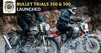 Royal Enfield Bullet Trials Replica 350 and 500 Launched In India