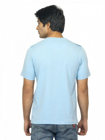 Locomotive Men Blue T Shirt002