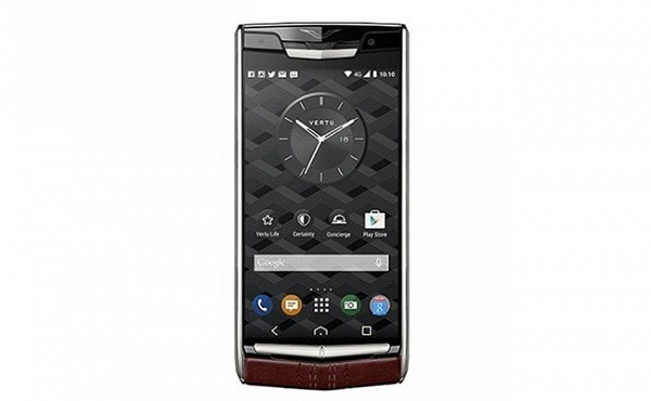 Vertu Signature Touch Pure Garnet Calf Red