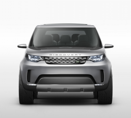 Land Rover Discovery Vision Concept Car Front View