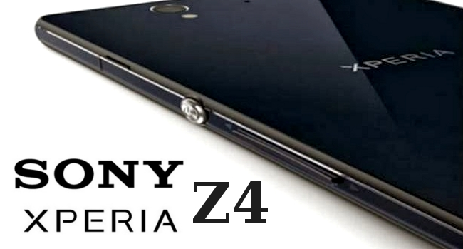 Sony Xperia Z4 at CES 2015