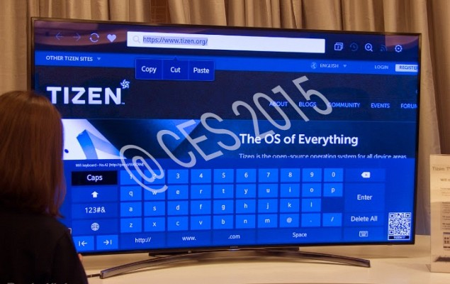 Tizen TV at CES 2015