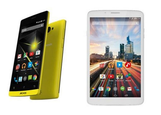 Archos 4g Tablet nd smartphone