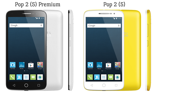 Alcatel OneTouch Pop 2 (5) Premium and Pop 2 (5)