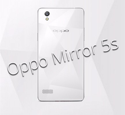 Oppo Mirror 5s Leaked Image