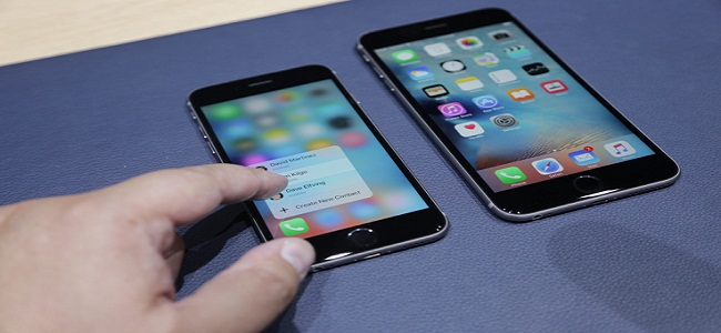 Apple iPhone 6S with 3D Touch Technology
