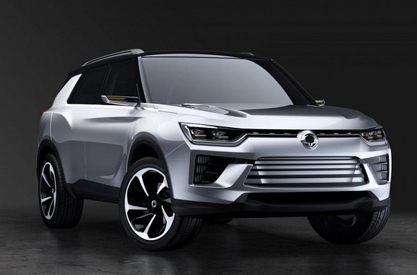 Mahindra and Mahindra owned SsangYong revealed its SIV 2