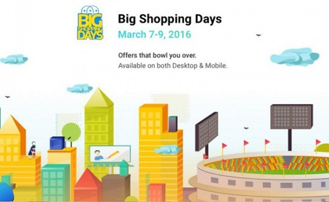 Flipkart Big Shopping Days Sale For Smartphones Begins