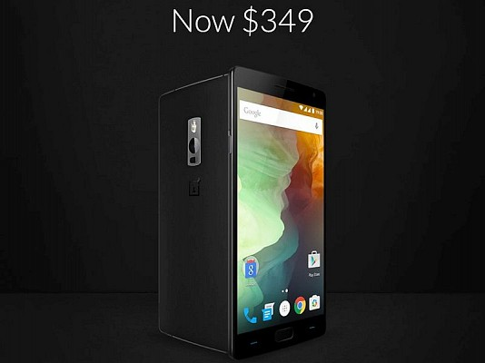 OnePlus cuts down price of both variants of OnePlus 2 by INR 2000