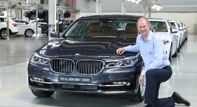 BMW India Rolls Out its 50,000th 7-series Sedan From Chennai Facility