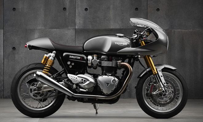 Triumph Launches Iconic Cafe Racer Thruxton R At Rs 10 9 Lakh