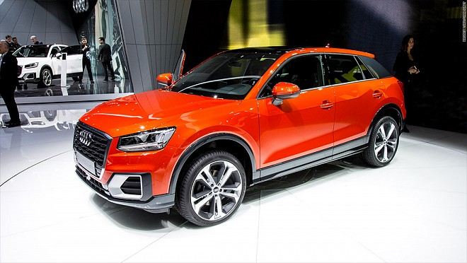Audi Starts Production of Smallest SUV, Q2 in Ingolstadt