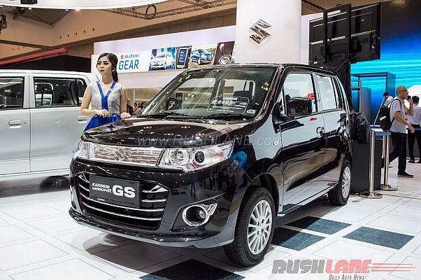Suzuki Displayed Wagon R At Ongoing Indonesia Auto Show