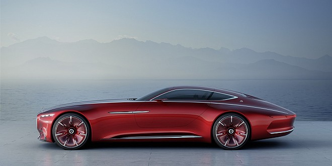 A two-door luxury coupe concept Vision Mercedes-Maybach 6