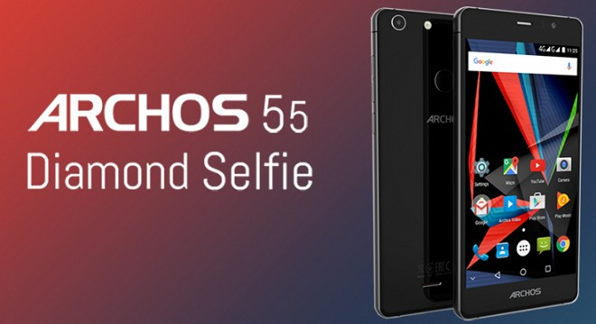 Archos unveils 55 Diamond Selfie Smartphone nearly for Rs 15,000