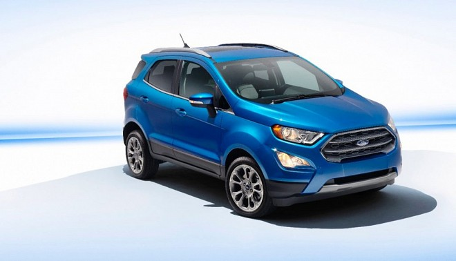 India-Bound Ford EcoSport Facelift Unveiled