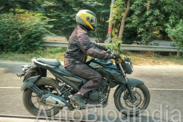 Yamaha MT-03 Spied on Indian Streets