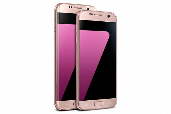 Samsung Galaxy S7 Edge Pink Gold Colour Variant Now