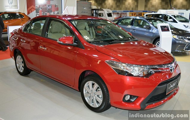 Toyota May Launch Vios in India in 2017